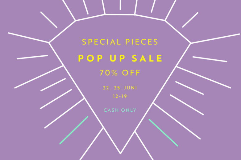 Special Pieces Pop Up Sale